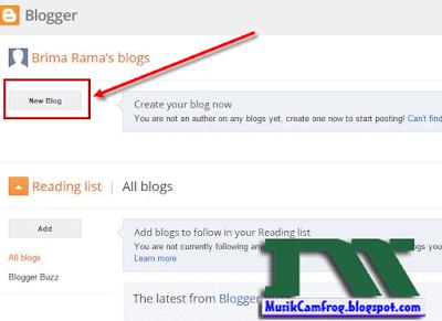 cara membuat web blog gratis
