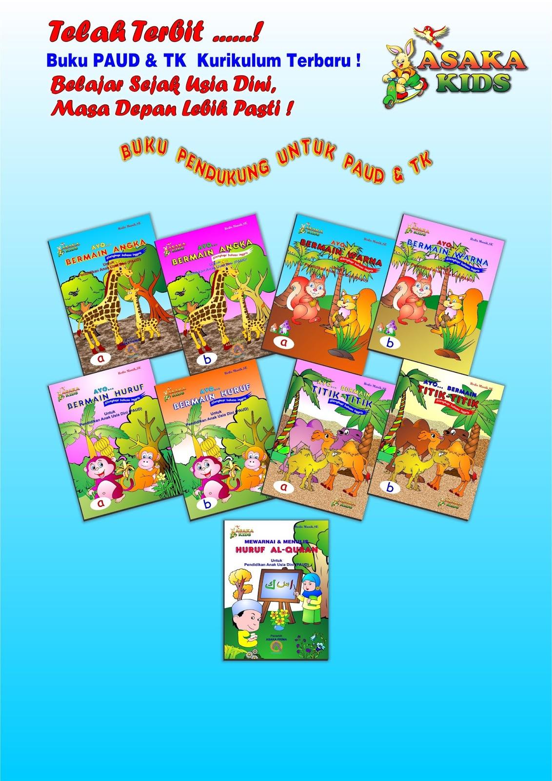 Daftar Harga Buku Paud Tk Penerbit Asaka Prima Panduan Belajar
