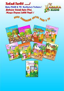 DAFTAR HARGA BUKU PAUD -TK (Penerbit Asaka Prima)