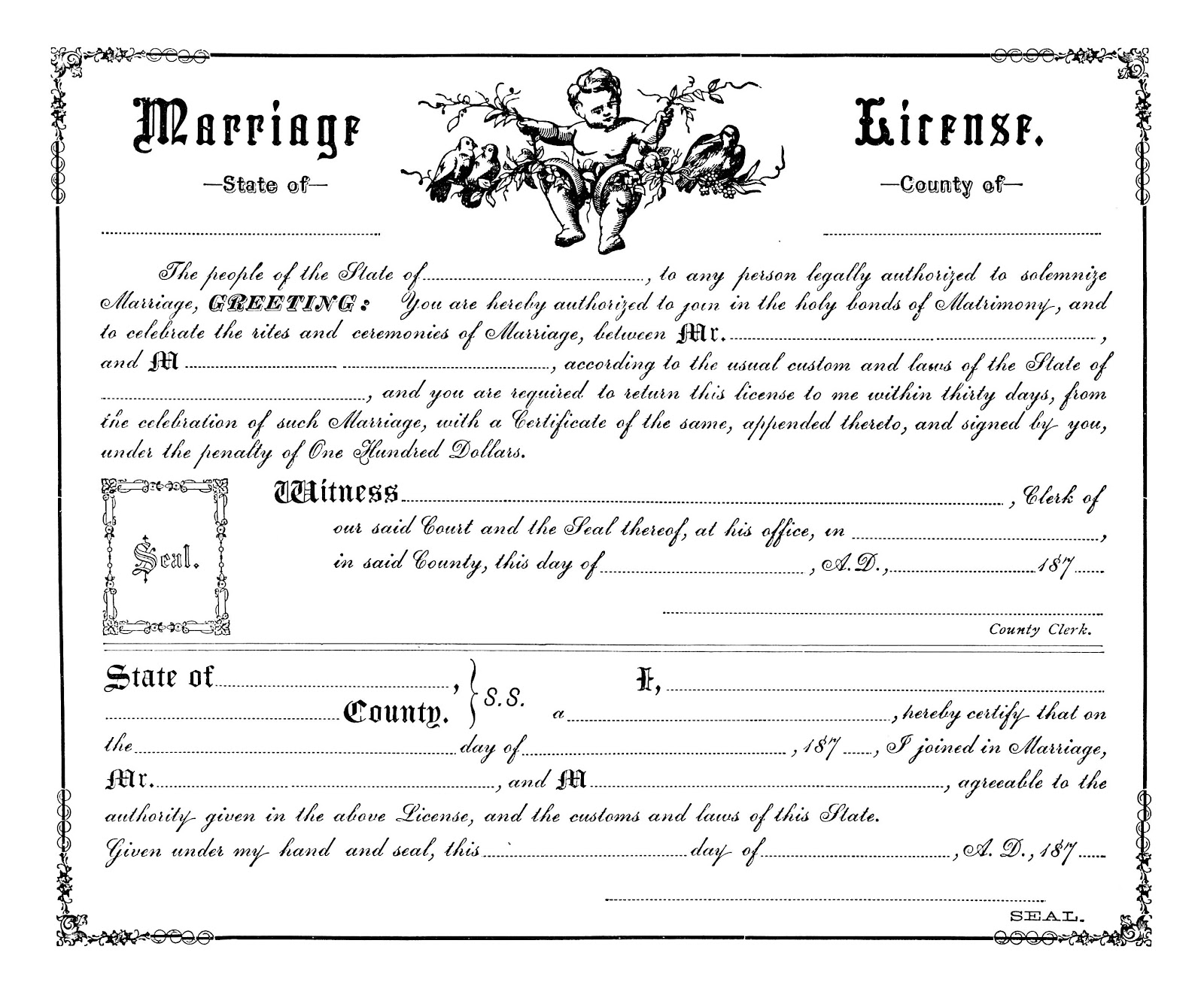 Free Public Marriage Records