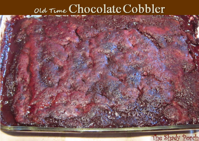 Chocolate Cobbler #dessert #cobbler #chocolate #comfort #recipe