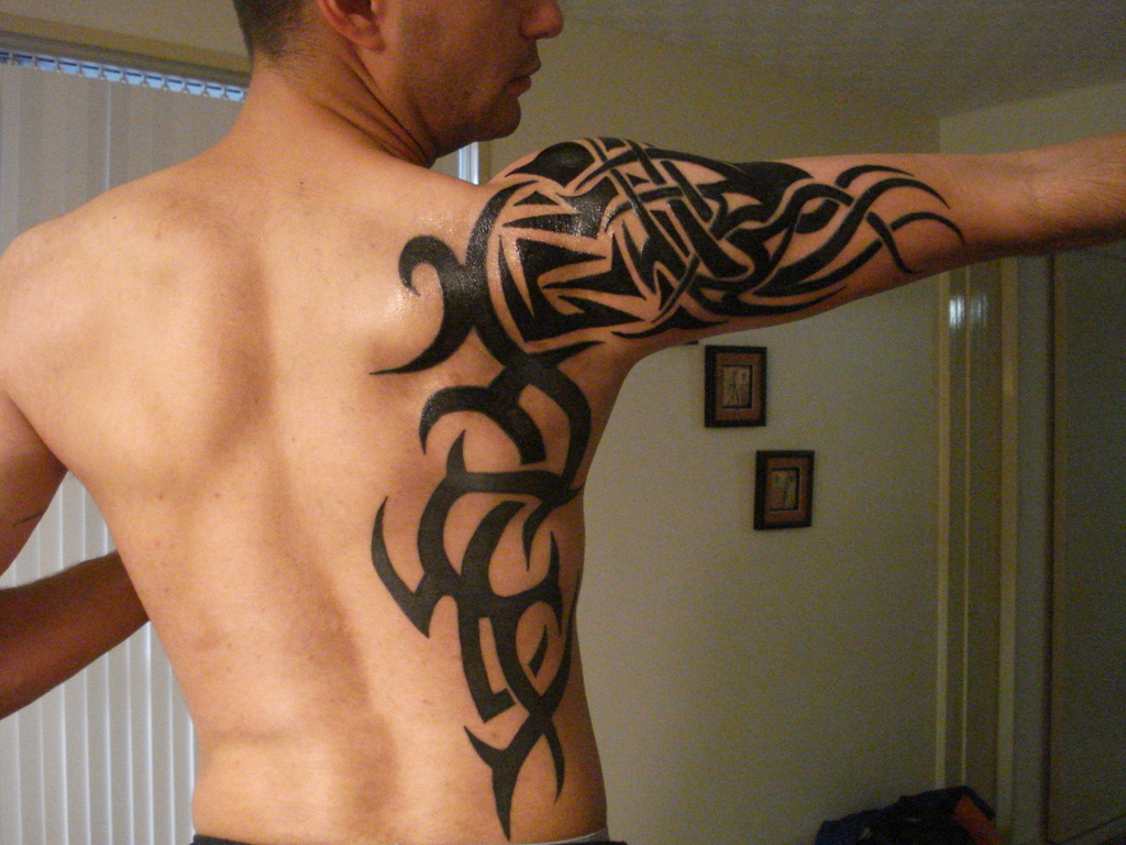 These Tribal Tattoos can be