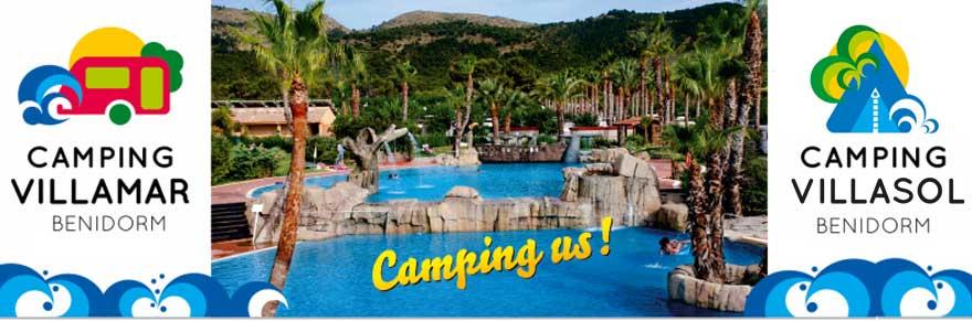 Camping en Benidorm - Camping Villasol - Camping Villamar
