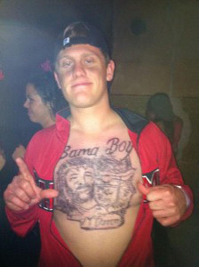 Amazing aj mccarron tattoo
