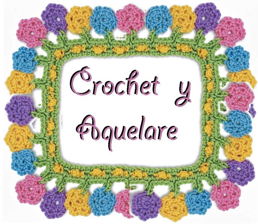 crochet y aquelare