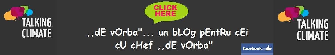 """blog  ,,De vorba"""""""