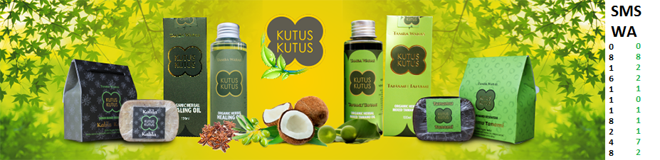 Herbal Minyak Kutus Kutus