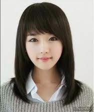 Model Rambut Wanita Sebahu Ala Korea 22