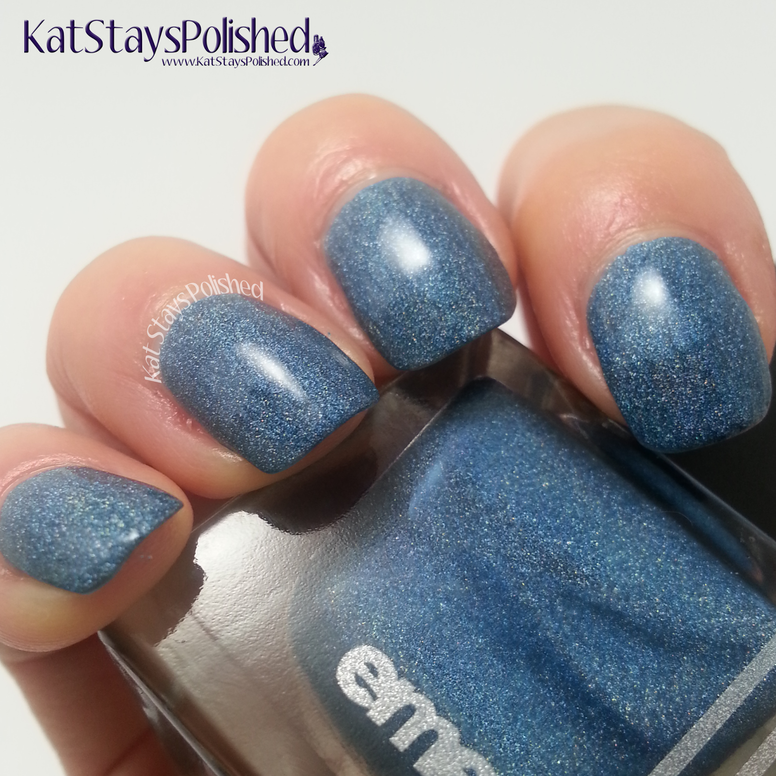 Emerald & Ash - Blue Corundum | Kat Stays Polished
