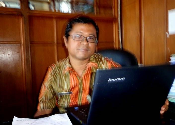 M Didik.ketua LPSE Klaten