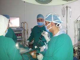 laparoscopy for a girl 7 years old with ovarian tumor