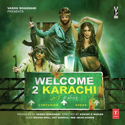 Welcome To Karachi 2015 Hindi PreDVDRip 700mb XVID
