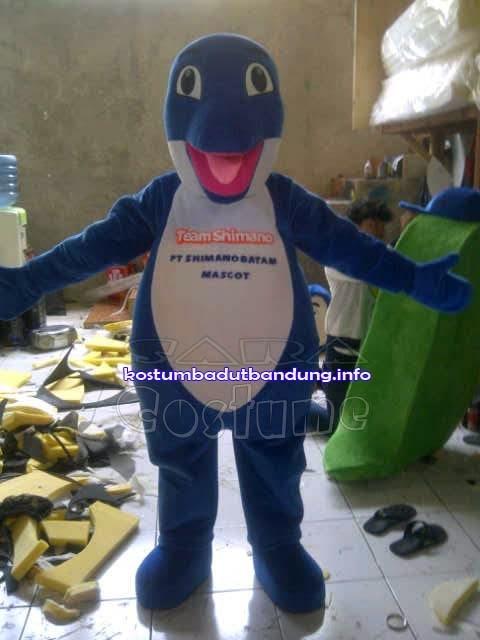 kostum lumba lumba maskot batam