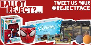 tweet your #rejectface