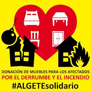 Logotipo de la campaña #ALGETEsolidario