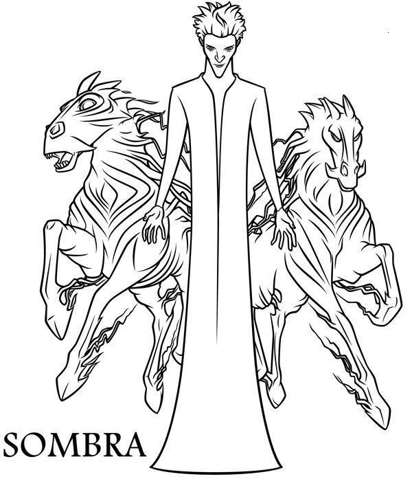Dibujo de El Hombre Sombra también conocido como El Coco en el ...