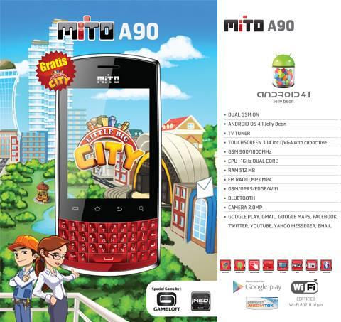 Spesifikasi Mito A90