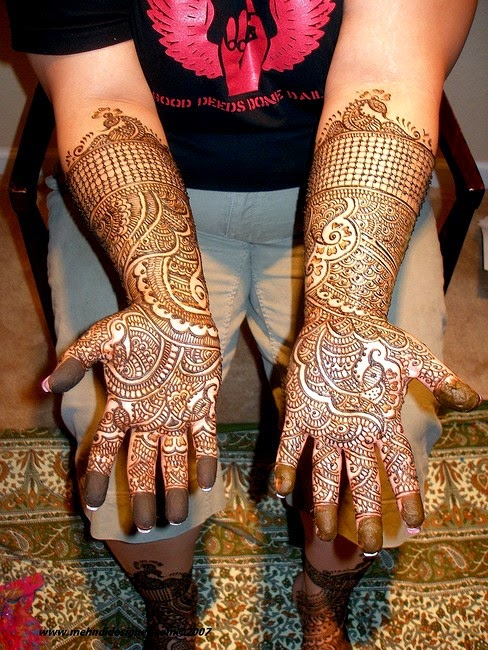Latest Mehndi Designs for Eid Ul Fitr