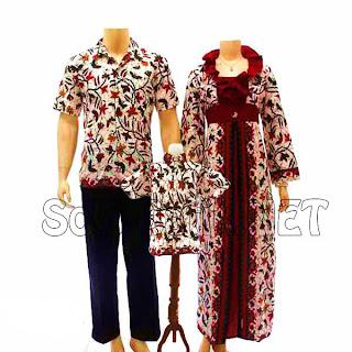 SK010 - Sarimbit Batik Keluarga Pasangan Solo 2013