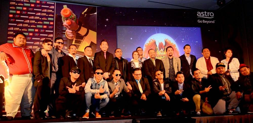 barisan kumpulan maharaja lawak 2014