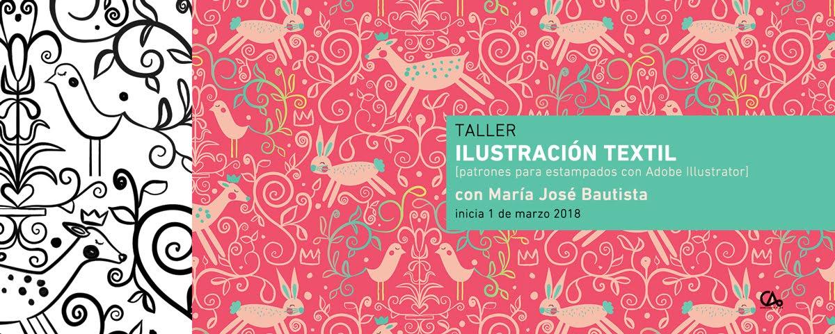 ILUSTRACIÓN TEXTIL // 1 de marzo