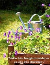 Svenska trädgårdsbloggar uppdelat på växtzon