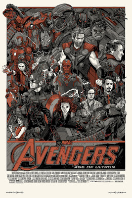 Avengers: Age of Ultron Cast & Crew Variant Edition Screen Print by Tyler Stout & Hero Complex Gallery