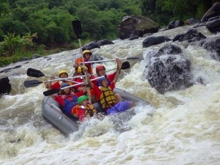 Tempat Rafting di Bogor, Sungai Cisadane