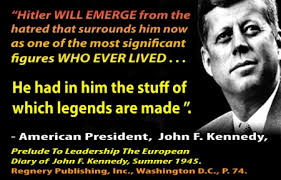 Words from President John F. Kennedy