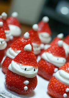 Las típicas fresas de diciembre XD