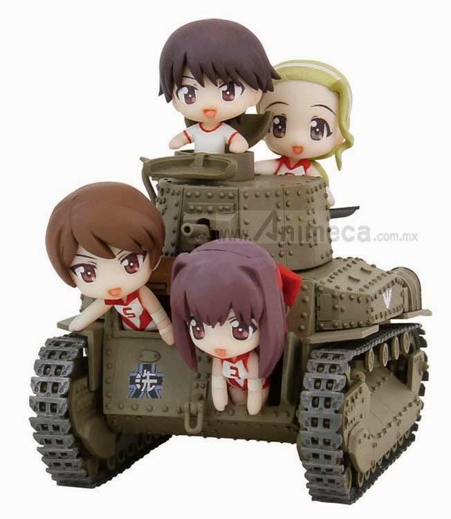 FIGURA Type 89 Midium Tank Kou Type Ending Ver. PairDot Girls und Panzer