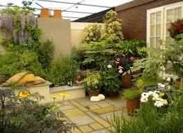 Kebun di atap rumah minimalis