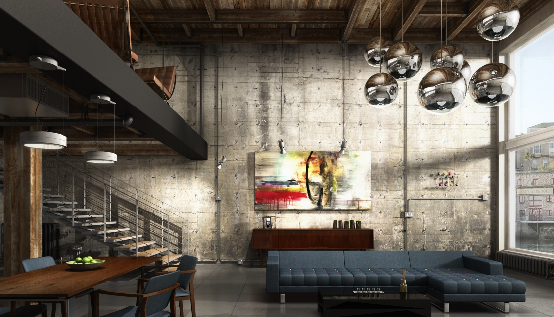 Here Is Our Own 3D Visualisation Of The Oriental Warehouse Loft, Which Can  Be Found On The MX 3D Models Site: