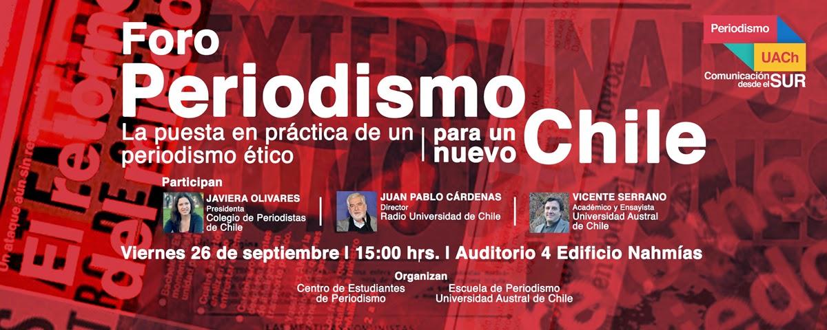 Presidenta del Colegio de Periodistas participa en foro para un nuevo periodismo en Valdivia