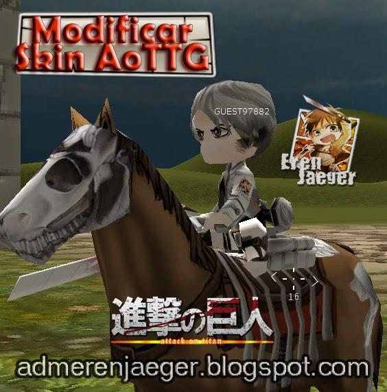 Skins Para Attack On Titan Tribute Game - Skins para minecraft pe tsuna