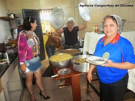 Almoço Beneficente no Rotary de Ilicínea