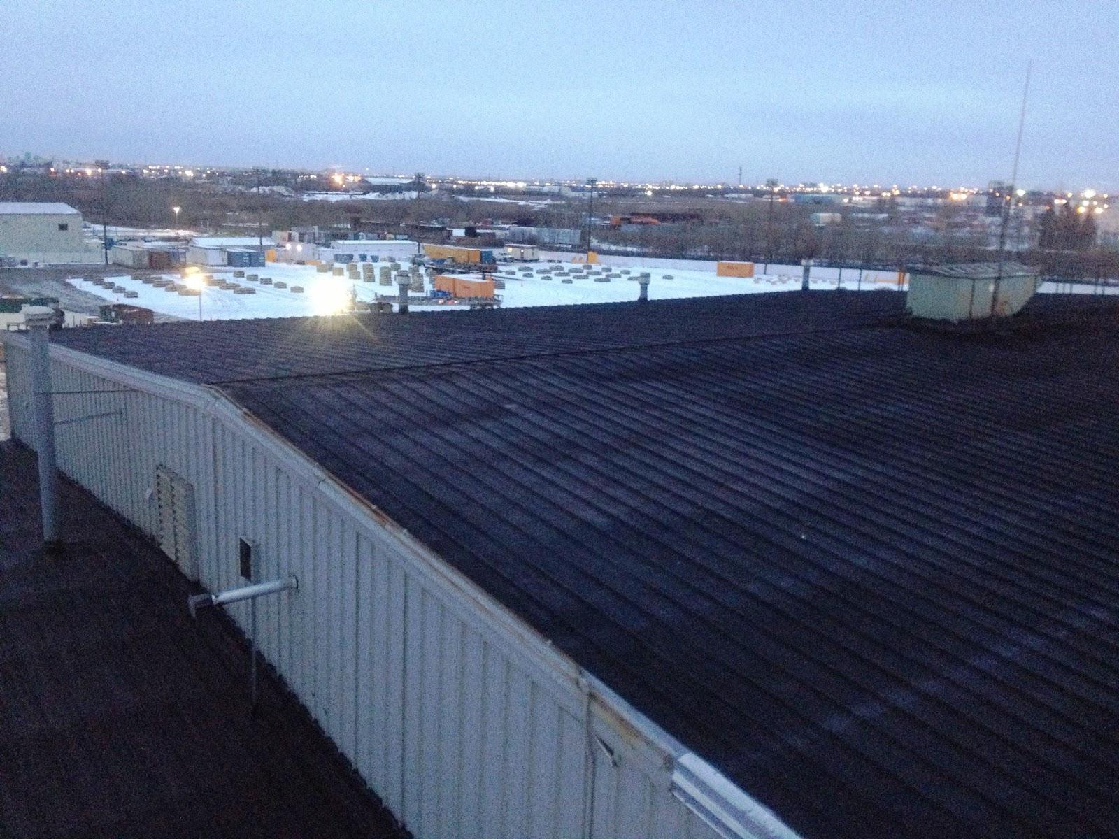 liquid rubber repaired this roof - Liquid Rubber Roof