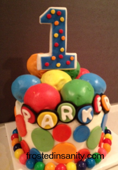 Frosted Insanity: Ball Pit Cake