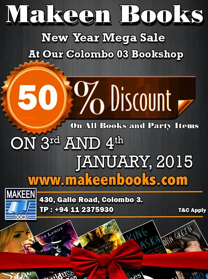 Enjoy 50% Discount this Saturday and Sunday only.
