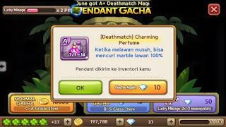 Trik Mendapatkan Pendant Deathmatch Get Rich 7 Juli 2015