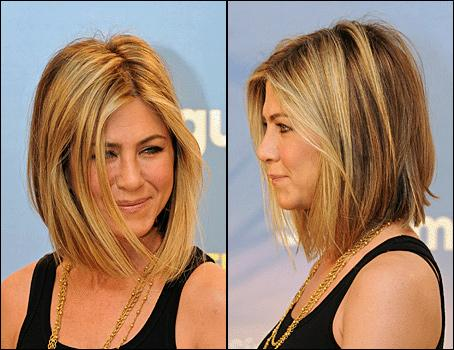 Jennifer Aniston shows off lighter look: More celebrity hair loss