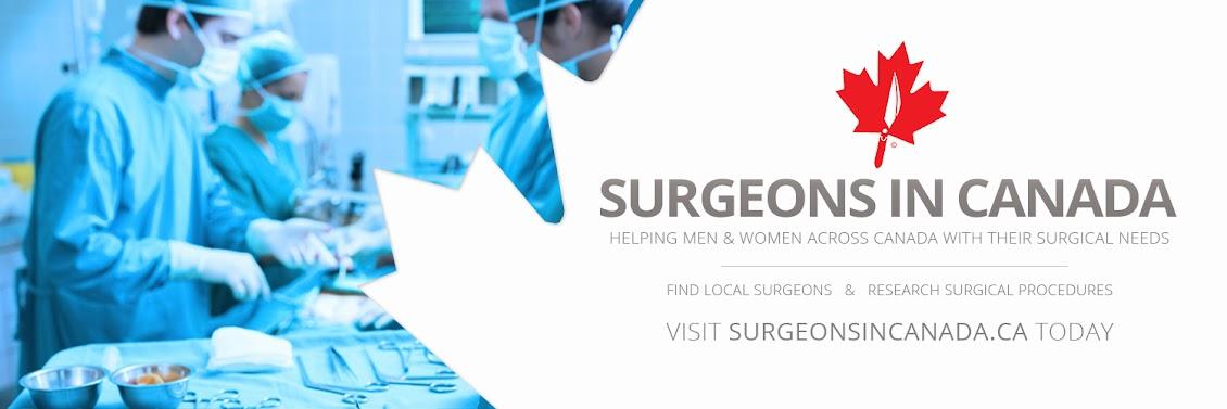 SurgeonsInCanada.ca Surgical Information Blog