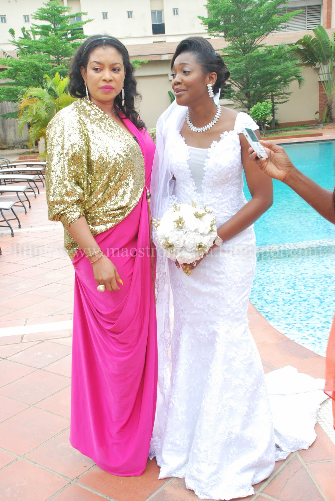 J-MARTINS WEDDING TO NNEZI IN BLAZING COLOURS (MM EXCLUSIVE) OVER 50 ...