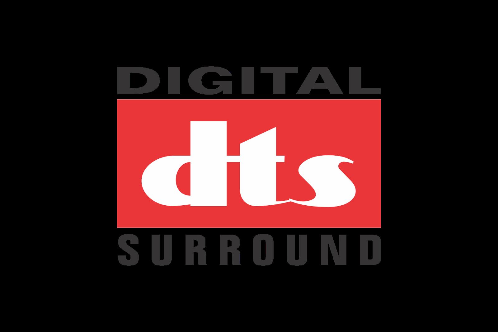 Digital DTS Surround Logo