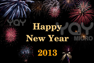 Happy New Year Greeting Cards 2013