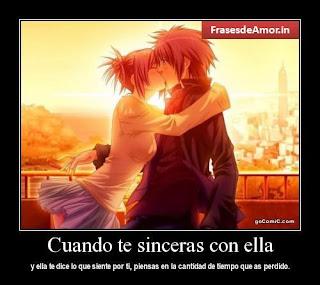 Imagen Cuando Te Sinceras Con Ella (Imagenes para Facebook)