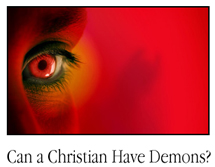 Can Christian's have demons?