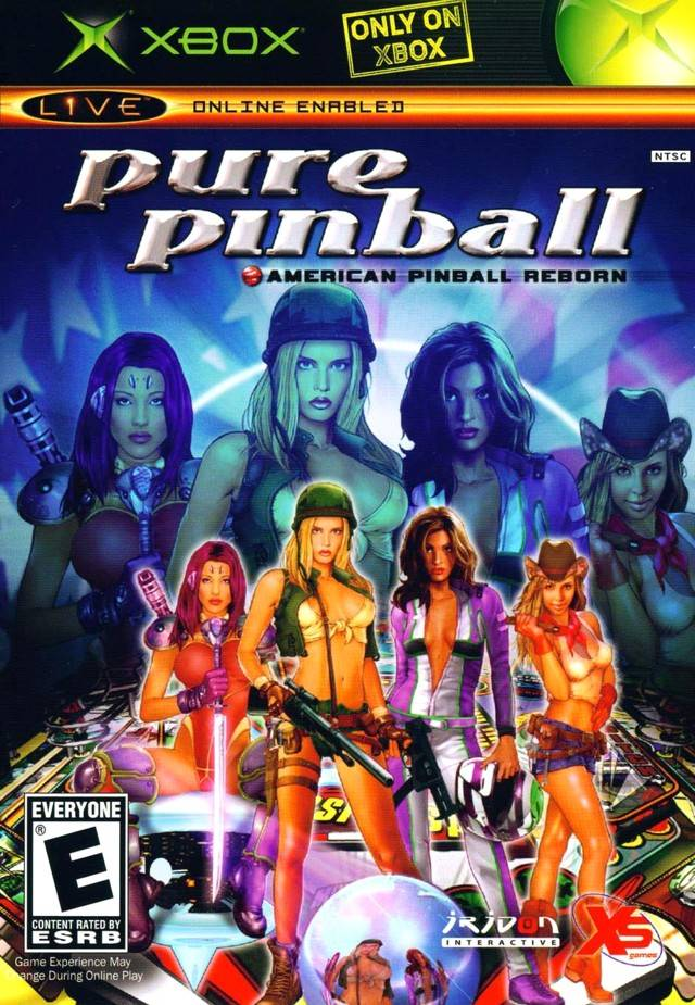 video game after life bad box art of the week pure pinball. Black Bedroom Furniture Sets. Home Design Ideas
