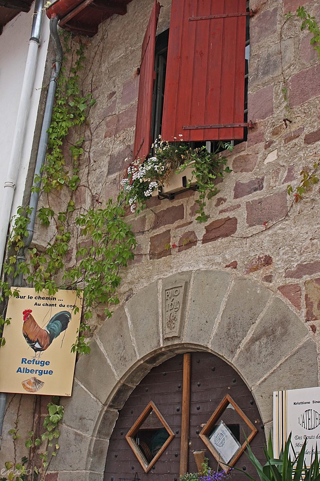 R veries sur le chemin de saint jacques de - Saint jean pied de port saint jacques de compostelle ...
