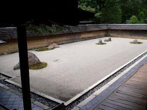 Vedere din grădina zen Ryoanji